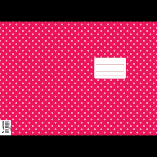 Vihiku kattepaber (430*310 mm), 50 lehte pakis, roosa