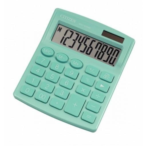 Kalkulaator (laua) Citizen SDC810NR GNE, 10 kohta, türkiis