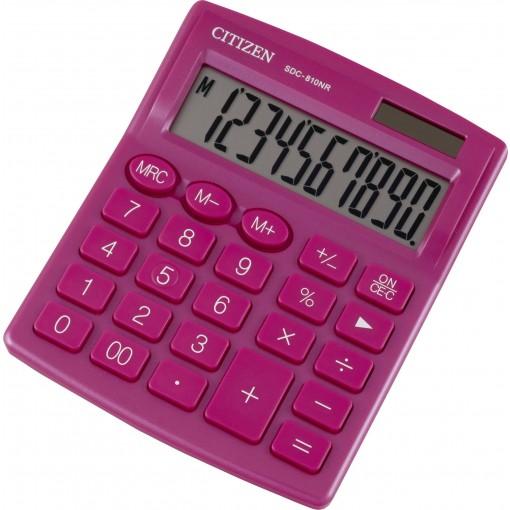 Kalkulaator (laua) Citizen SDC810NR PKE, 10 kohta, punane