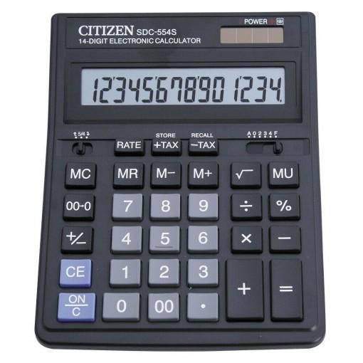 Kalkulaator (laua) Citizen SDC554S, 14 kohta