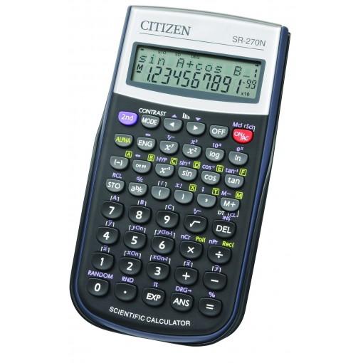 Kalkulaator funktsioon Citizen SR270N, 12 kohta