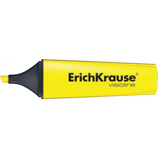 Tekstimarker Erich Krause V-12, kollane