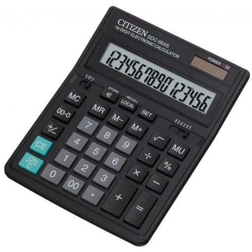 Kalkulaator (laua) Citizen SDC664S, 16 kohta