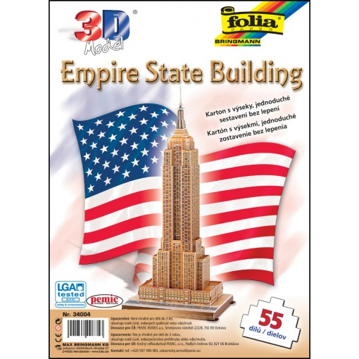Käsitöökomplekt Folia 55osa Empire State