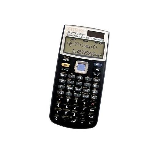 Kalkulaator funktsioon Citizen SR270X, 12 kohta