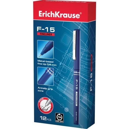 Tindipliiats FINELINER F-15, 0.6 vee baasil, sinine