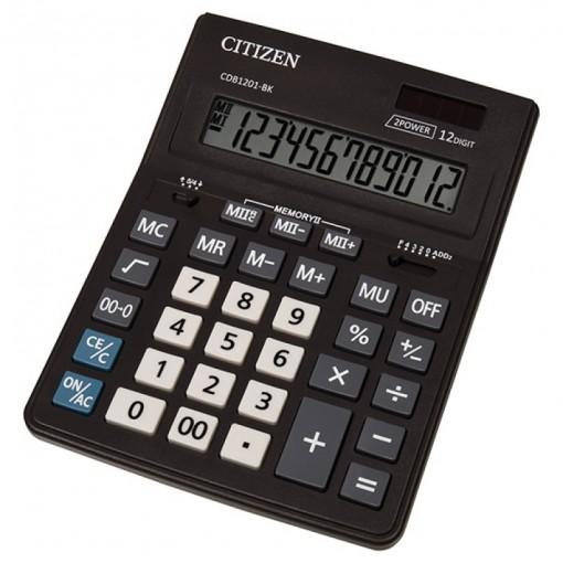 Kalkulaator (laua) Citizen CDB1201 BK, 12 kohta