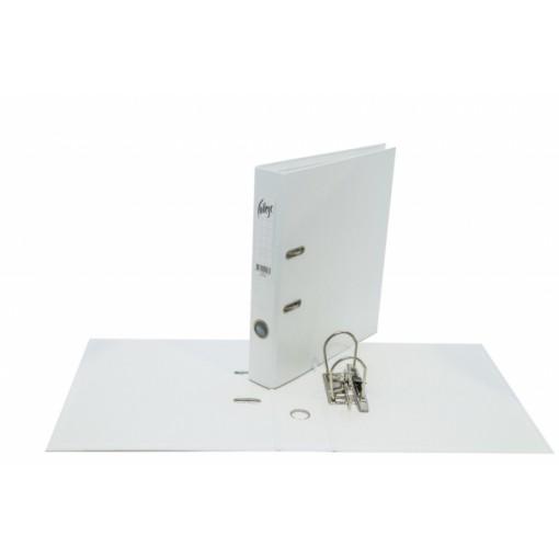 Registraator A4 COLLEGE 5cm VALGE
