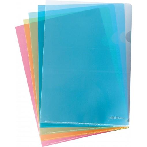 L-tasku A4 Clear Standard, punane
