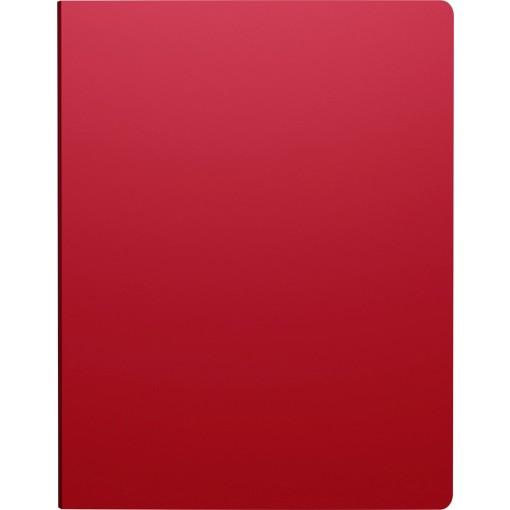 Rõngaskaas A4 CLASSIC, 4 rõngast, selg 24mm, punane