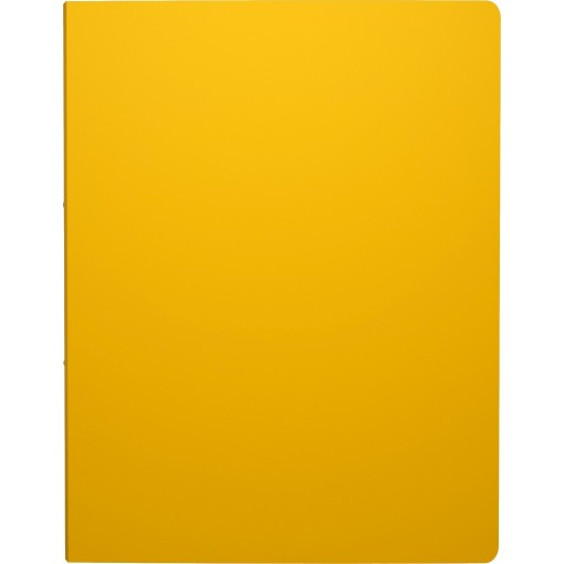 Rõngaskaas A4 CLASSIC, 4 rõngast, selg 24mm, kollane