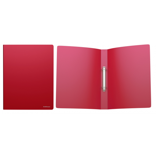 Rõngaskaas A4 CLASSIC, 2 rõngast, selg 35mm, punane