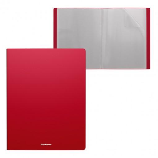 Menüükaaned Matt Classic A4 10 taskut, punane