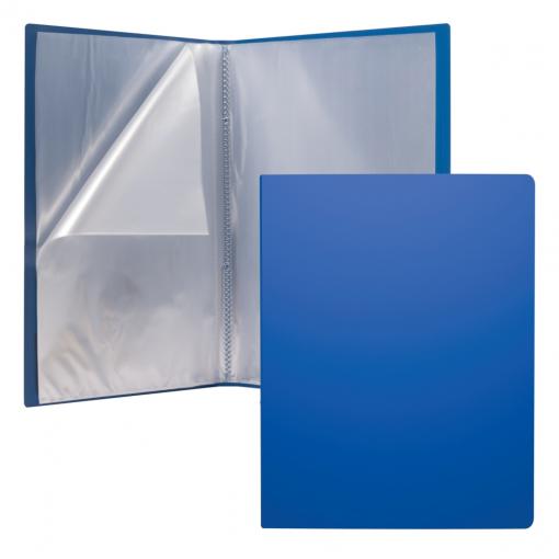 Menüükaaned Matt Classic A4 30 taskut, sinine