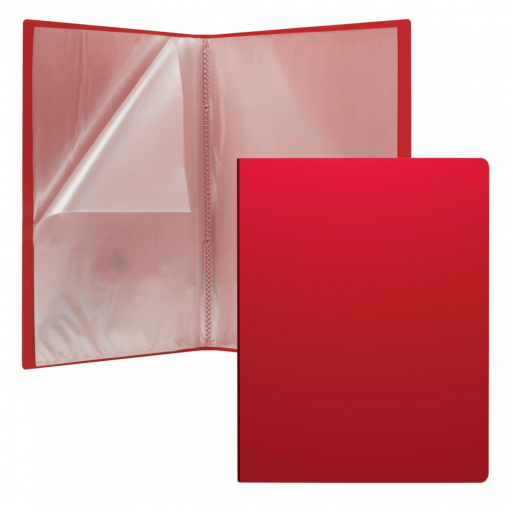 Menüükaaned Classic A4 30 taskut, punane