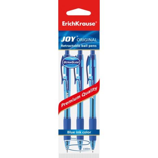 Pastapliiats lülitiga JOY Original, 3 sinist riputuspakis