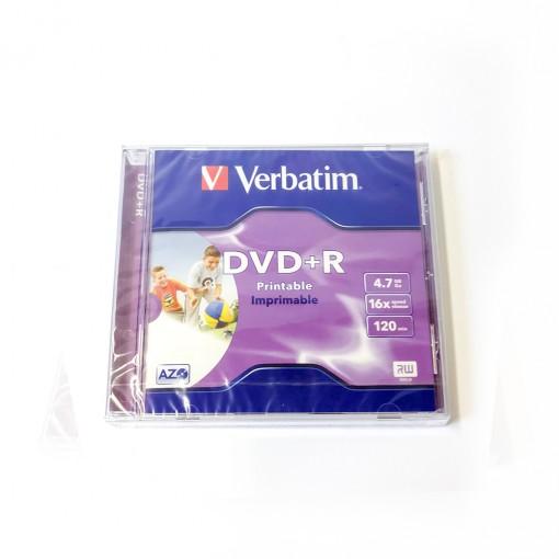 DVD+R Verbatim 16x 4,7GB Printable