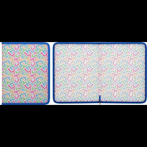 Plastmapp ringlukuga LINES A4