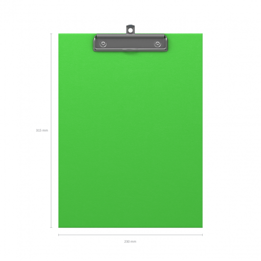 Kirjutusalus kaaneta NEON A4, roheline