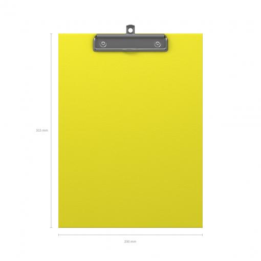 Kirjutusalus kaaneta NEON A4, kollane