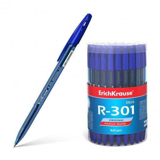 Pastapliiats R-301 Original Stick 0.7, sinine (60tk pakendis)