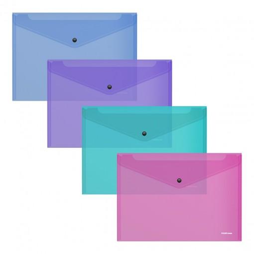Kileümbrik trukiga A5+, VIVID läbipaistev, 4värvi assortii