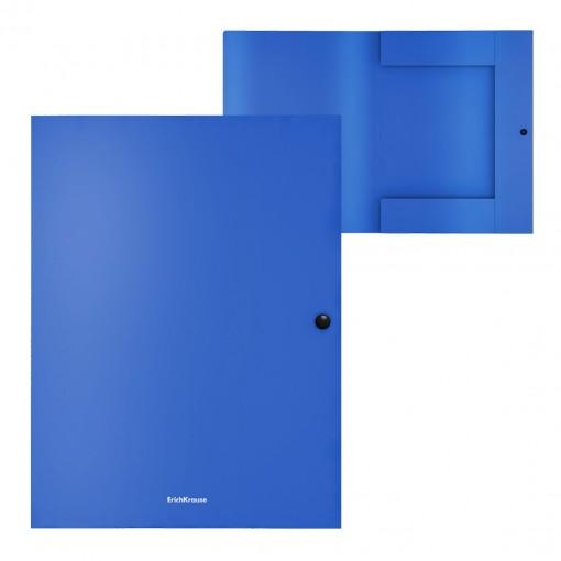 Trukiga plastkarp A4 (selg 8mm), Matt Classic, sinine