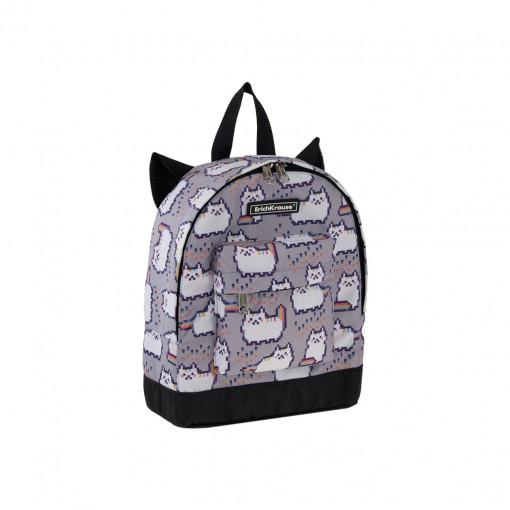 Seljakott ErichKrause EasyLine Mini Animals 6L Pixel Cat