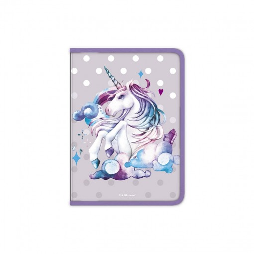 Plastmapp ringlukuga A4 Dream Unicorn