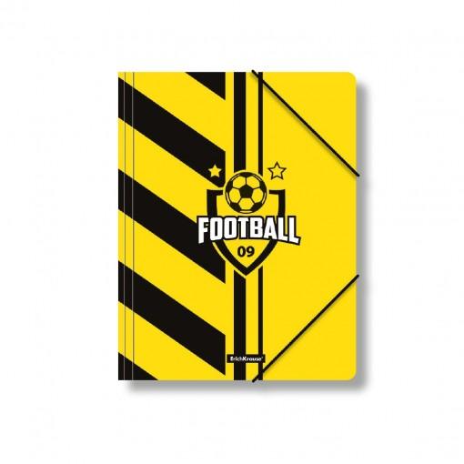 Nurgakummiga plastmapp A4 Football Time