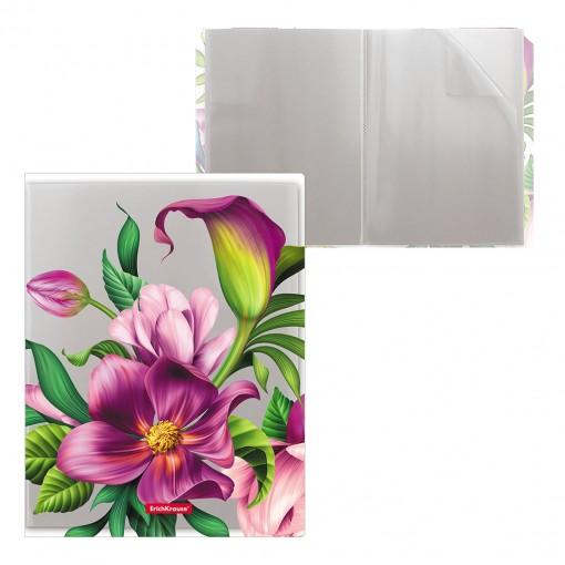 Menüükaaned Tropical Flowers A4 20 taskut