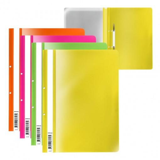 Plastkiirköitja augustatud A4 Fizzy Neon, 4värvi assortii