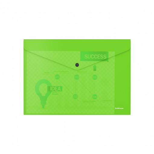 Kileümbrik trukiga A4 Glossy Neon, poolläbipaistev, roheline