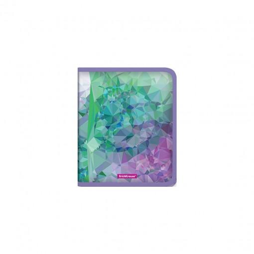 Plastmapp ringlukuga A5+ Violet Dynamique