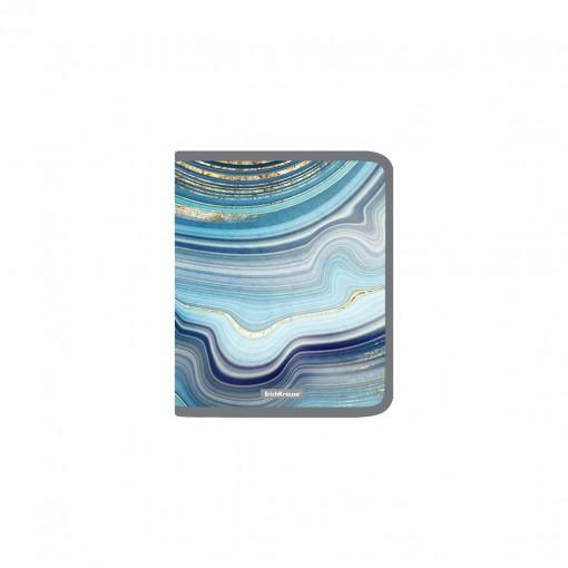 Plastmapp ringlukuga A5+ Marble Kyanite