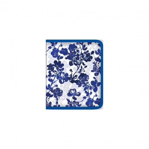 Plastmapp ringlukuga A5+ Crystal Flowers