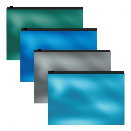 Kileümbrik tõmblukuga B5 Glossy Ice Metallic
