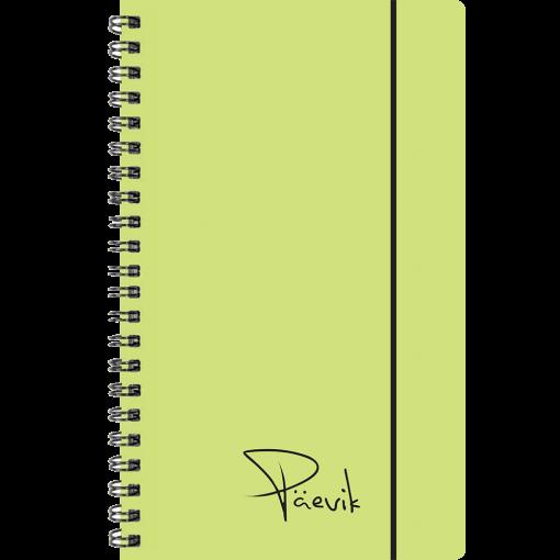 Väike koolipäevik, spiraalköide – kollane