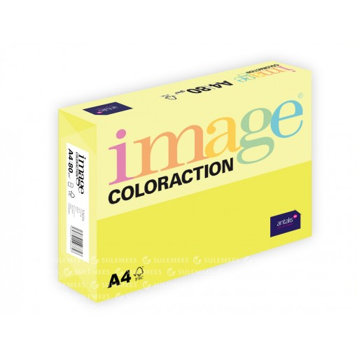 Image Coloraction A4/80gr, kanaarikollane (49), 500lehte