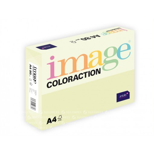 Image Coloraction A4/80gr, helekollane (53), 500lehte