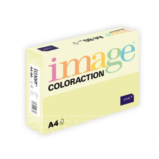 Image Coloraction A4/80gr, beežikaskollane (54), 500lehte