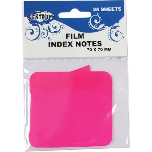 Märkmepaber-järjehoidja Centrum 70x70mm, 25 lehte, roosa