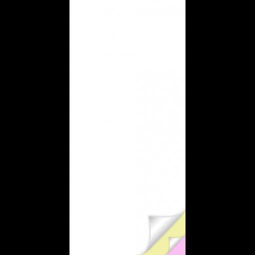 """Blankett """"Teenindaja märkmeplokk A67"""", 3x25 lehte, isekopeeruv"""
