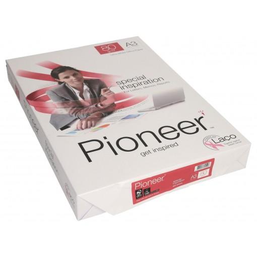 Koopiapaber A3 Pioneer 80g, 500 lehte