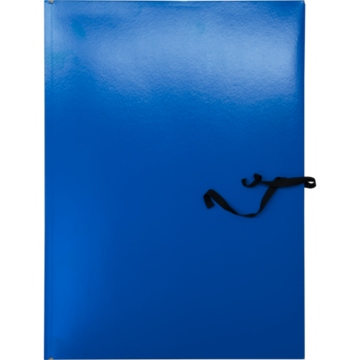 Mapp kartongist A3 3-klapiga paeltega, sinine
