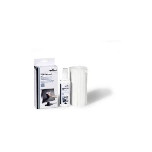Puhastuskomplekt Durable Screenclean, klaasile vedelik+20lappi