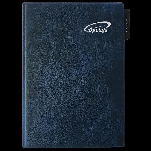 Õpetaja raamat, mahulised plastkaaned – sinine