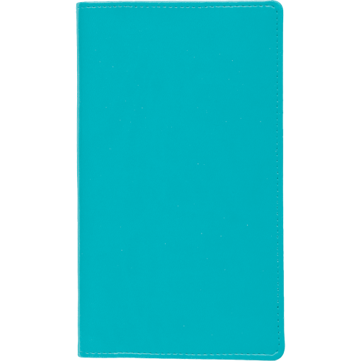 Taskumärkmik Mini, spiraalköide, LUX kaaned (TÜRKIIS)