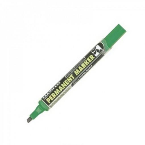 Marker Pentel NLF60 permanent, lõigatud, roheline