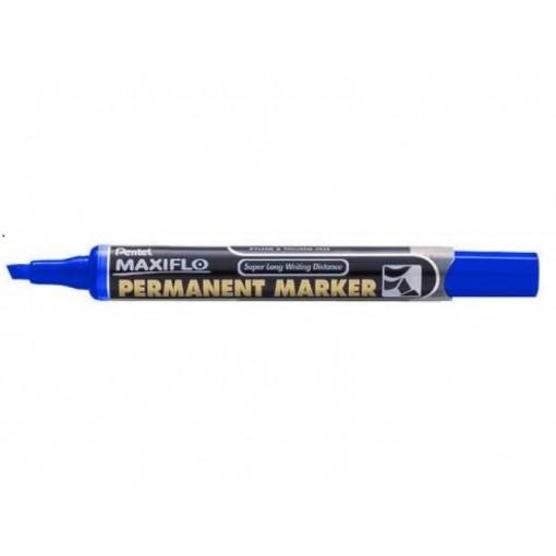 Marker Pentel NLF60 permanent, lõigatud, sinine